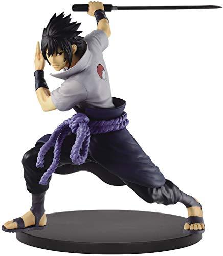 Banpresto - Figura Naruto Shippuden - Uchiha Sasuke II Estrellas Vibradoras 17cm - 4983164166149