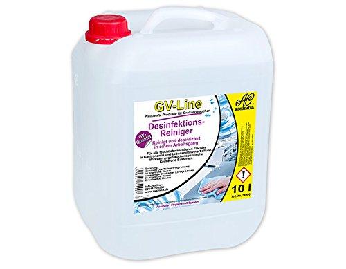 Assindia Desinfektions-Reiniger GV-Line Desinfektionsmittel GV-Qualität 10l Kanister