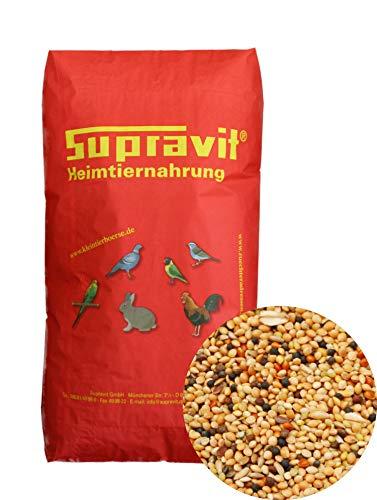Supravit Wachtelfutter 25 kg Hauptfutter & Basisfuttermischung für Wachteln