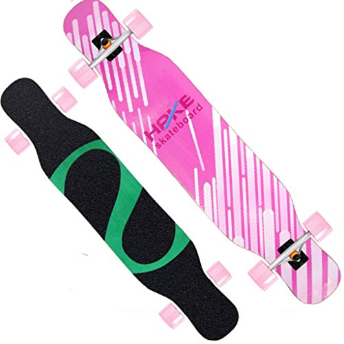 Cheapest Prices! XUEYING-KickScooter Skateboard Professional Bamboo Wood Longboard Adult Brush Stree...