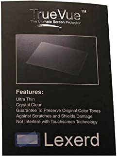 Compatible with Toshiba Camileo X100 TrueVue Crystal Clear Digital Camcorder Screen Protector Lexerd