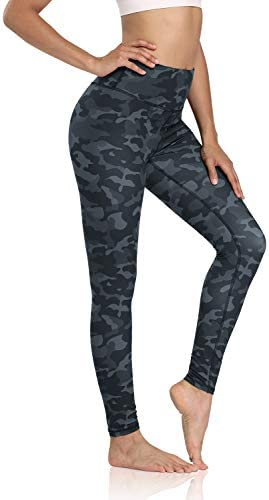 DIBAOLONG Yoga Pants for Women High Waist Tummy Control Yoga Leggings Workout Athletic Pattern product image