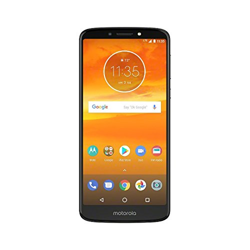 Motorola Moto E5 Plus 6' Dual SIM 4G 2GB 16GB 5000mAh Grey - Smartphones (15.2 cm (6'), 16 GB, 12 MP, Android, 8.0 Oreo, Grey) [versione Italia]