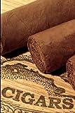 CIGARS: 🔸 The Smoker Book For Men who love Smoke Cigars / Humidor Notes Journal for smoker/ The Perfect Gift cigar For Cuban Aficionado / 6 x 9 paperback guitar
