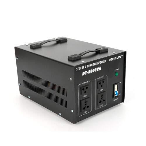 Transformador de 5000 W 220 V con transformador de 110 V o 220 V para caravanas, barcos, camping, viajes, hogar, se puede utilizar con energía solar