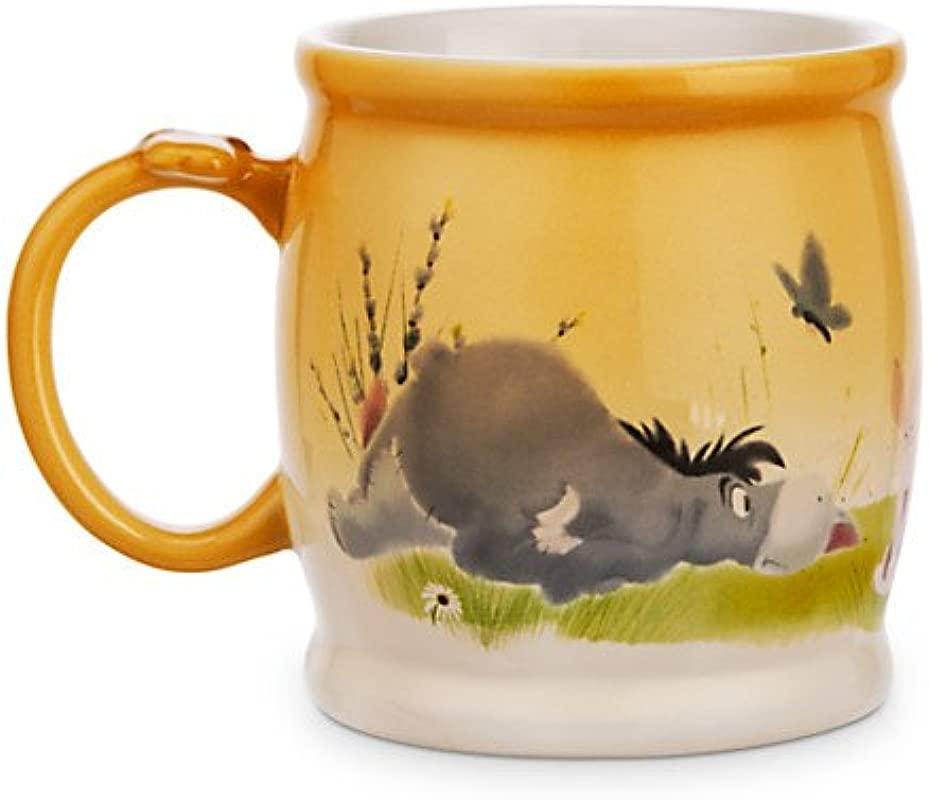 Disney Winnie The Pooh And Pals Watercolor Mug