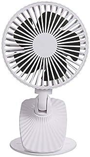 ghfcffdghrdshdfh Clip On Electric Fan Adjustable Tilt Fan USB Ventilator Mini Small Fan White