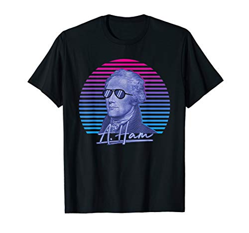 Alexander Hamilton Shirt A. Ham Funny 'Merica Patrotic Shirt