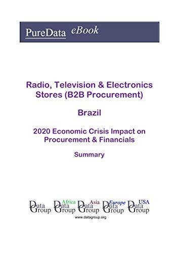 Radio, Television & Electronics Stores (B2B Procurement) Brazil Summary: 2020 Economic Crisis Impact on Revenues & Financials (English Edition)