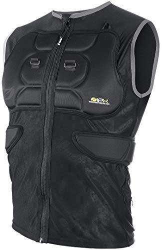 O'NEAL | Protektoren-Jacke | Motocross Enduro Motorrad | IPX® Rückenprotektor, 4-Wege-Stretch-Mesh/Lycra, aus Bioschaumstoff | BP Protector Sleeve | Erwachsene | Schwarz | Größe S