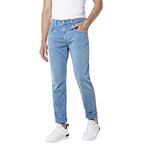 REPLAY Anbass Jeans, 971 Dark Blue, 32 W / 32 L para Hombre