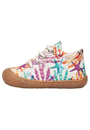 Naturino Cocoon-Zapato para Primeros Pasos de Tela Estampada Multicolor 19