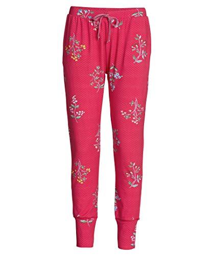 PiP Studio Damen Pyjama-Hose Bobien Winter Wonderland pink (71) XS