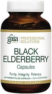 Gaia Herbs (Professional Solutions) Black Elderberry 60 caps
