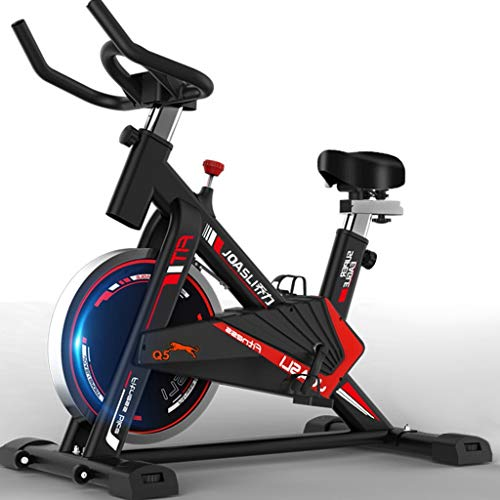 Exercise Bike Indoor Cycling Bicycle Stationary Bikes with The LED Screen and Bottle Holder, Gym Exercise Stationary Bike for Gym Home Cardio Workout Training Bikes,Best Choice for Exercise