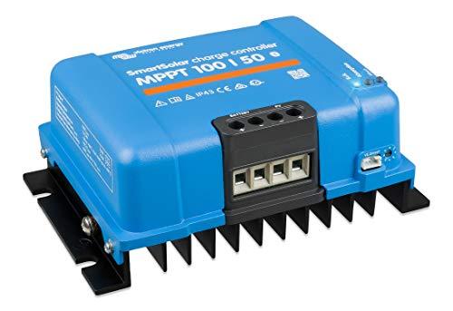 Victron Energy SmartSolar MPPT 100V 50 Amp 12/24-Volt Solar Charge Controller (Bluetooth)