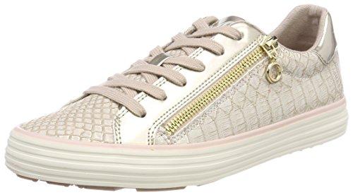 s.Oliver Damen 23615 Sneaker, Pink (Rose/Gold), 40 EU