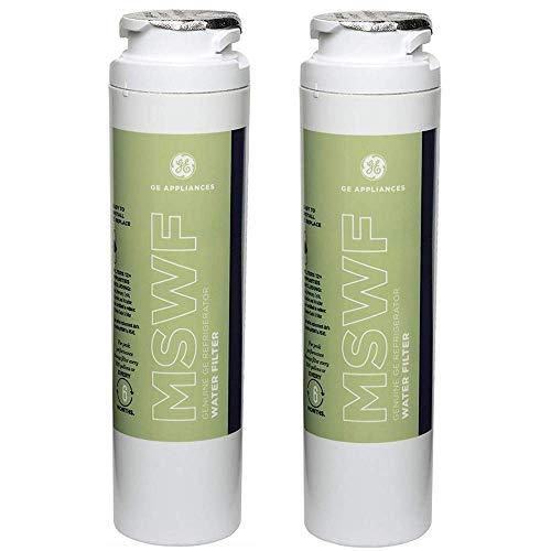 GE MSWF Refrigerator Water Filter, 2 Pack