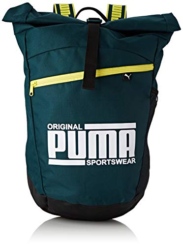 PUMA Sole Backpack Rucksack, Ponderosa Pine-Blazing Yellow, OSFA