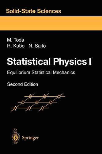 Statistical Physics I: Equilibrium …