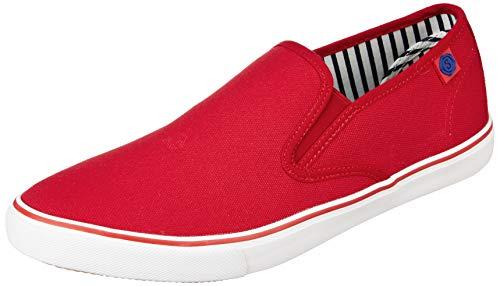 Amazon Brand - Symbol Men's Red Sneakers-10 UK/India (44 EU)(AZ-SH-01A)