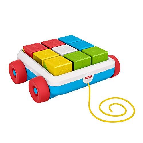 Carrinho de Blocos, Fisher Price, Multicolorido, GML94, Mattel