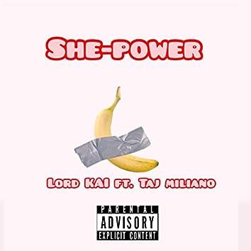 She Power (feat. Taj Miliano)