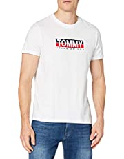 Tommy Hilfiger Tjm Tommy Contrast Box Tee Camicia Uomo