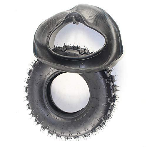 DGHJK Neumáticos de Scooter eléctrico, 4,10-6 neumático Interior y Exterior Apto para...