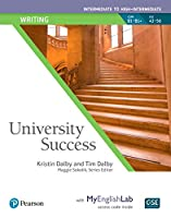 University Success Writing Intermediate to High-Intermediate, Student Book with MyEnglishLab