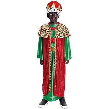 Disfraz Rey Mago Baltasar niño infantil para Navidad 4-6 años ...
