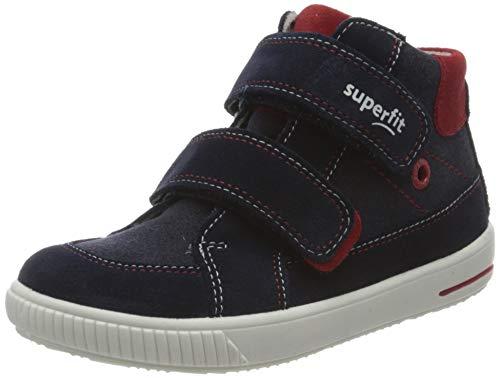 Superfit Baby Jungen MOPPY Sneaker, Blau 80, 21 EU