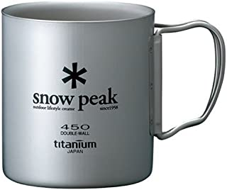 Snow Peak Titanium Double 450 Wall Cup