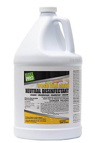 Fresh and Clean Concentrated Neutral pH Disinfectant Cleaner, Makes 32+ Gallons, 1 Gallon
