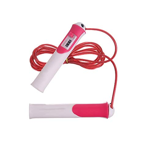 GYZLZZB Saltar la cuerda de alambre de acero especial Peso conde de PVC material Examen Físico Saltar la cuerda Pérdida de Peso Grasa Ejercicio de Entrenamiento Burning equipo de la aptitud longitud a