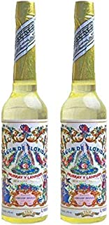 PACK DE DOS (2) BOTELLAS DE Agua de Florida Original Peru Amarilla 270 ml.