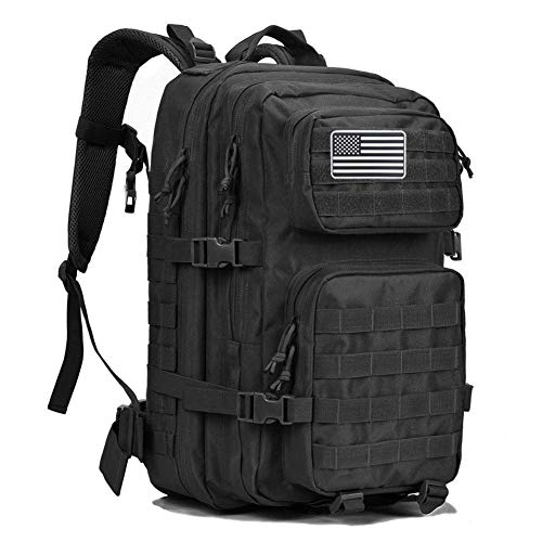 G4Free 40L Military Tactical Backpack Large Army Assault Pack Molle Shoulder Bag...