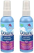 Downy Wrinkle Releaser Plus Light Fresh Scent, Travel Size, 3 Fluid Ounce (Pack of 2)