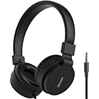 Jettom Foldable 3.5mm Straight Jack Wired Kids Headphones