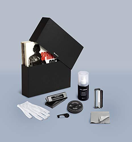 Meliconi Vinyl Kit Deluxe, Kit Completo per la Pulizia e per la Manutenzione dei Vinili. 8 Prodotti Specifici in Uno, per Prendersi Cura dei Propri Vinili al 100%