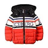 Iceberg GBICE9302B Piumini Corti Bambino Rosso 24m