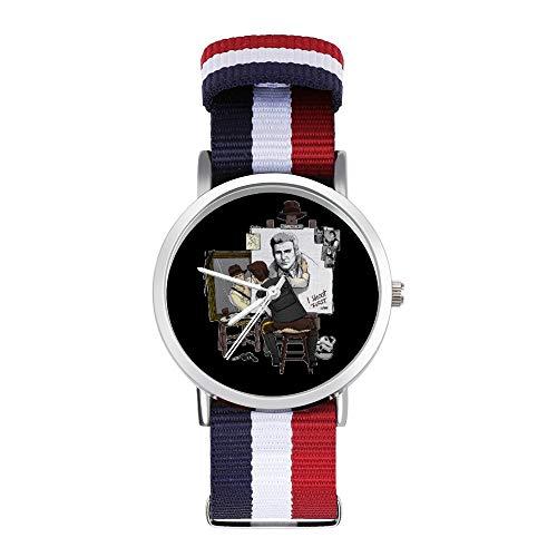 Harrison Ford Triple Hero Freizeitarmbanduhr geflochtene Uhr mit Skala