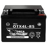 バイク用 バッテリー 液入り 充電済み OTX4L-BS (YTX4L-BS / FTX4L-BS 互換)