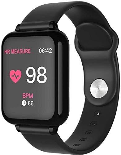 Tracker Fitness Inteligente impermeable reloj monitor de ritmo cardíaco Presión arterial Deporte Mujeres SmartWatch reloj inteligente mujeres de los hombres del reloj usable Rastreador de fitness depo