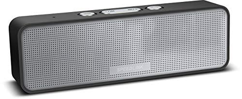 Speedlink SL-890008-BK Amparo Portable Stereo Lautsprecher Bluetooth schwarz (Generalüberholt)