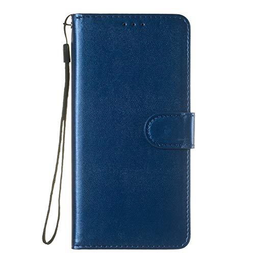 Tosim Galaxy S9+ (S9 Plus) Hülle Leder, Klapphülle mit Kartenfach Brieftasche Lederhülle Stossfest Handyhülle Klappbar Case für Samsung Galaxy S9+ (S9Plus) - TOYHU250232 T2
