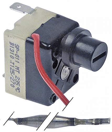 Termostato monofásico 235 °C Adaptable para freidora eléctrica Fiamma RST Kastel Ascaso Gev Artículo en chisko it:624489