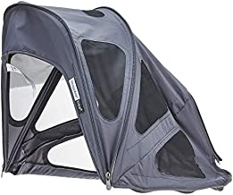 Bugaboo Bee5 Breezy Sun Canopy- Extendable Sun Canopy with Mesh Ventilation Panels, Made with Reflective Materials for Nighttime Strolling