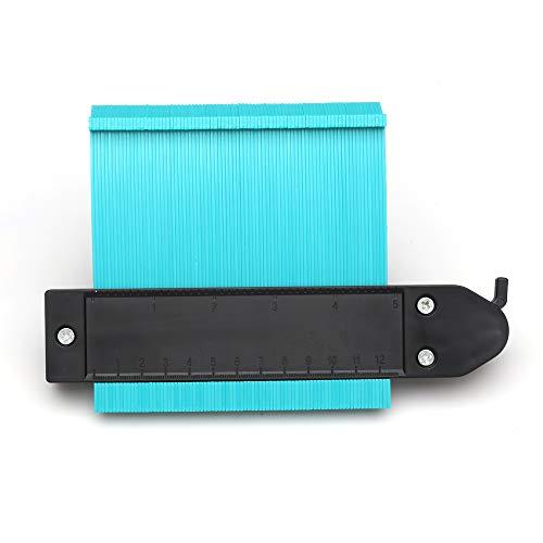 型取りゲージ ロック設計 120mm 幅広タイプ(13cm幅) 「フルフィルメント by Amazon」ABSプラスチック製型取りゲージ 測定ゲージ 測定工具 曲線定規 不規則な測定器