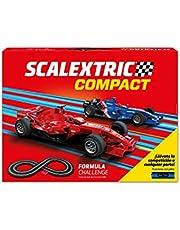 Scalextric Compact Formula Challenge, Multicolor (Scale Competiton Xtreme 1)